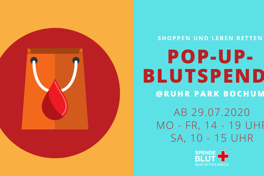 Pop-Up Blutspende @ Ruhr Park Bochum