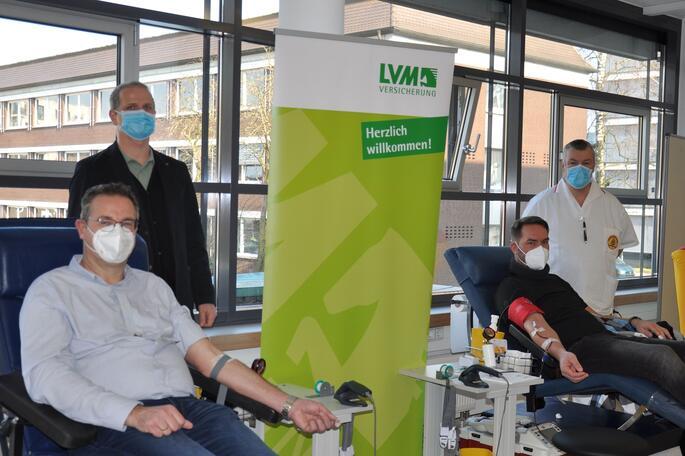 Unternehmens-Blutspende in Homeoffice-Zeiten